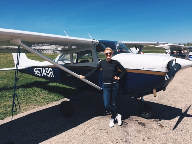 Clare's Discovery Flight